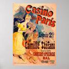 Casino de Paris 1891 Poster