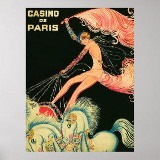 Casino de Paris ~ Vintage Ad Print