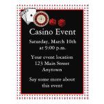 Casino Event 21.5 Cm X 28 Cm Flyer