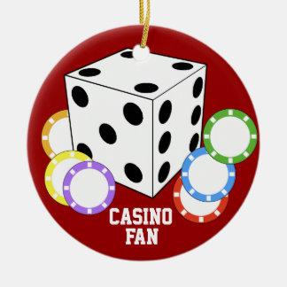 Casino Fan Love Poker Ornament