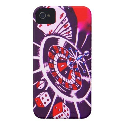 Casino Gambler Dice, Cards, & Roulette Blackberry Cases