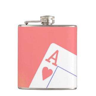 Casino Gambling Poker Flask Groomsmen's Gift