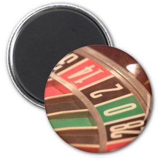 Casino Gambling Roulette Wheel Vintage Retro Style Refrigerator Magnet