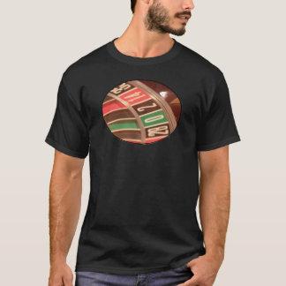 Casino Gambling Roulette Wheel Vintage Retro Style T-Shirt