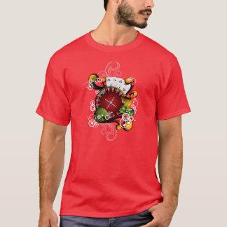 Casino illustration with gambling elements T-Shirt