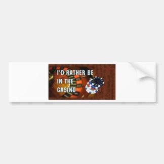 Casino iphone4 bumper sticker