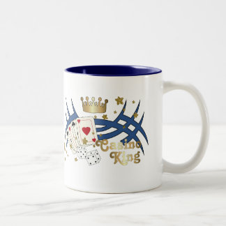 Casino King Two-Tone Coffee Mug