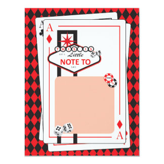 Casino / Las Vegas Night - Adult Party - Thank You Card