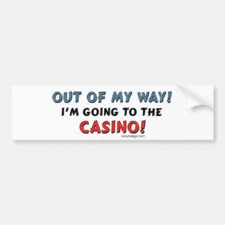 Casino Lovers Bumper Sticker