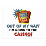 Casino Lovers Postcards