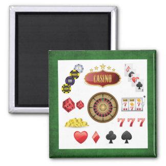 Casino Square Magnet