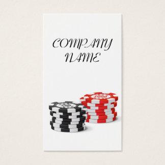 Casino Manager - Dealer Business Card Template