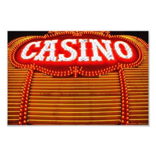 Casino Marquee in Carson City Art Photo