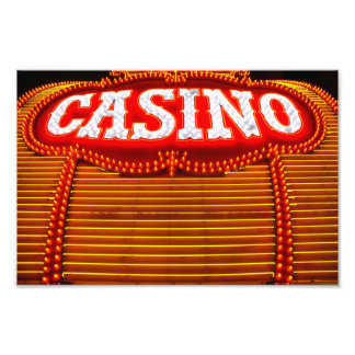 Casino Marquee in Carson City Photo Print