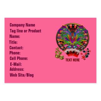 Casino Masquerade Party Business Card