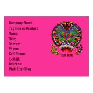 Casino Masquerade Party Business Card Templates