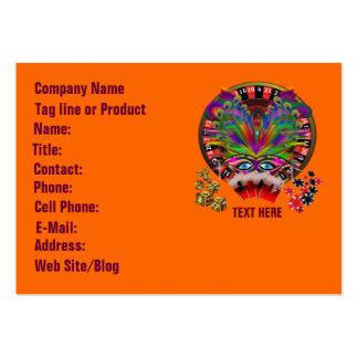 Casino Masquerade Party Business Cards