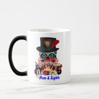 Casino Party Any Event Aces and Eights View Notes Morphing Mug