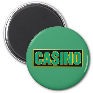 Casino - Play To Win - Gamble Refrigerator Magnet