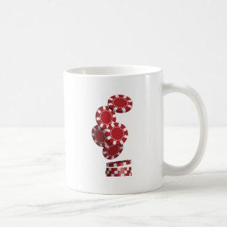 Casino / Poker Chips Basic White Mug