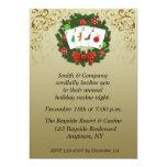 Casino Poker Holiday Invitation