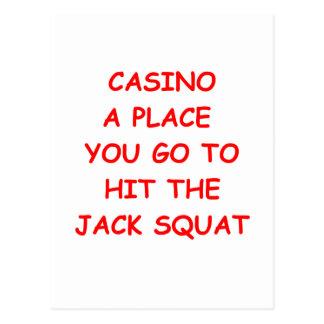 casino postcards