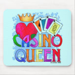 Casino Queen Mouse Pad
