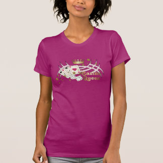 Casino Queen Pink Tees