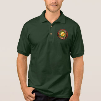 Casino Roulette Wheel With Your Lucky Number Polo Shirt