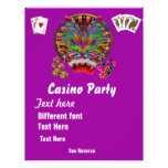 Casino Themes Masquerade 1 See Notes 21.5 Cm X 28 Cm Flyer