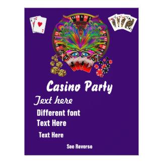 Casino Themes Masquerade 1 See Notes 21.5 Cm X 28 Cm Flyer