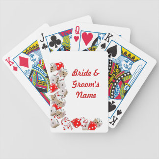 Casino Wedding deck of Playing Cards Favors
