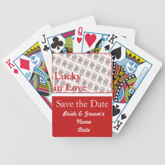 Casino Wedding deck of Playing Cards Save the Date