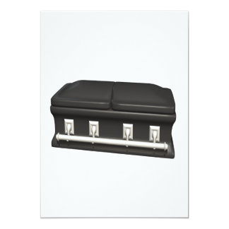 CASKET 13 CM X 18 CM INVITATION CARD