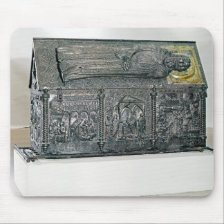 Casket containing the remains of St. Simeon Mouse Pad