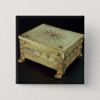 Casket from the tomb of Philip II of Macedon 15 Cm Square Badge