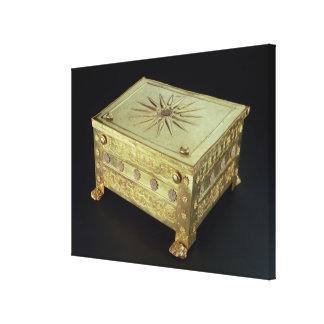 Casket from the tomb of Philip II of Macedon Canvas Print