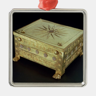 Casket from the tomb of Philip II of Macedon Christmas Ornament