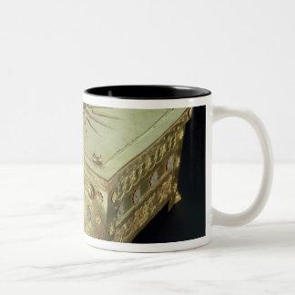 Casket from the tomb of Philip II of Macedon Two-Tone Coffee Mug