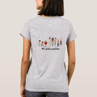 CASLN / CaliforniaSibs women's tshirt