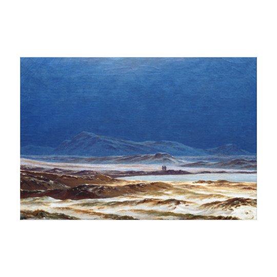 Caspar David Friedrich Riesengebirge Canvas Print