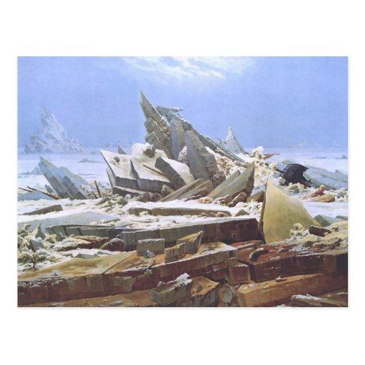 Caspar David Friedrich - The Polar Sea Postcard
