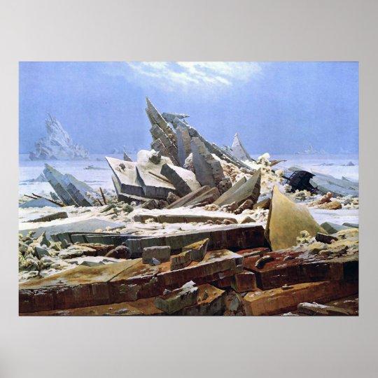 CASPAR DAVID FRIEDRICH - The sea of ice