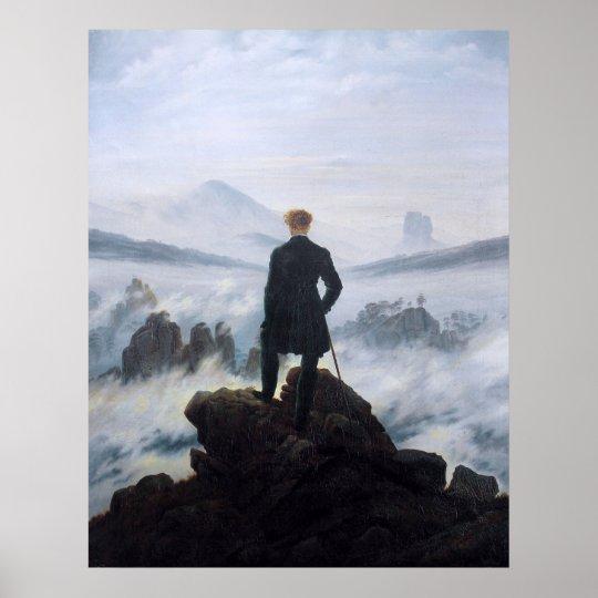 CASPAR DAVID FRIEDRICH - Wanderer above the sea