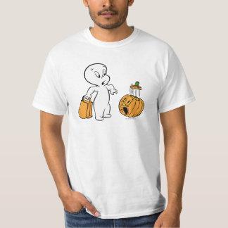 Casper and Pumpkin 2 Tshirts