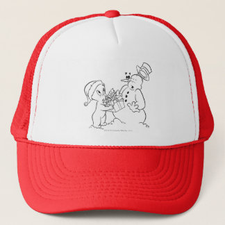 Casper and Snowman Cap