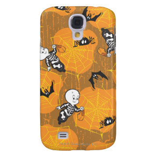 Casper and Spider Webs Galaxy S4 Case