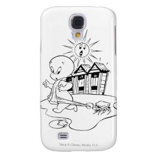 Casper at the Beach Galaxy S4 Case