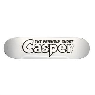 Casper Black Outline Logo Skate Deck