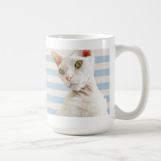 Casper Blue Stripe Mug